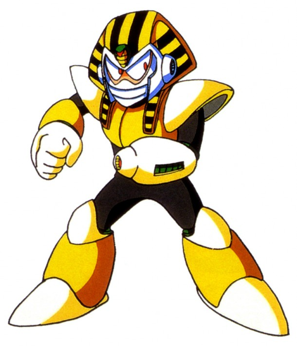 Coolest Robot Masters | Pharaoh Man (No. 7)
