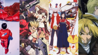 Trigun: Badlands Rumble and Fullmetal Alchemist: Conqueror of Shamballa will also be featured.