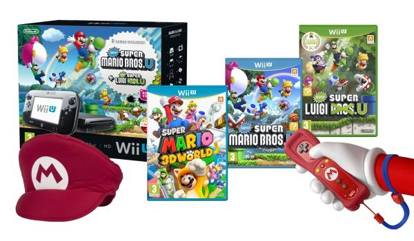 Wii U Mario Mega Bundle (UK)