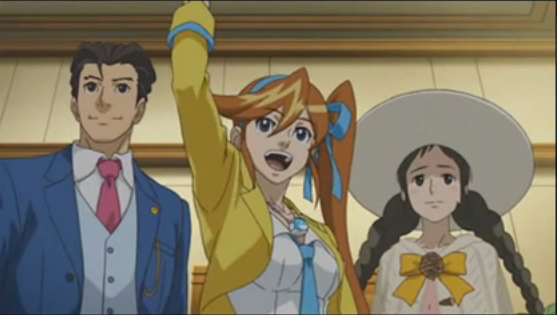 Phoenix Wright: Ace Attorney - Dual Destinies | Cutscene