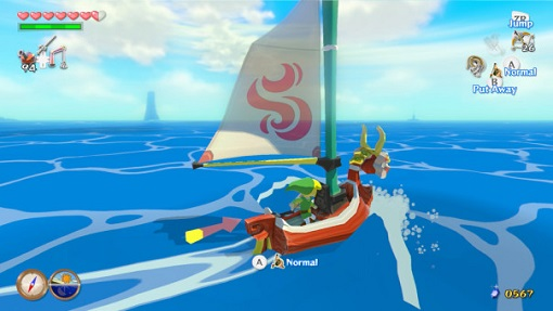 Wind Waker HD | Sailing