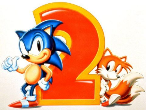 Sonic the Hedgehog 2 - Classic Logo | oprainfall