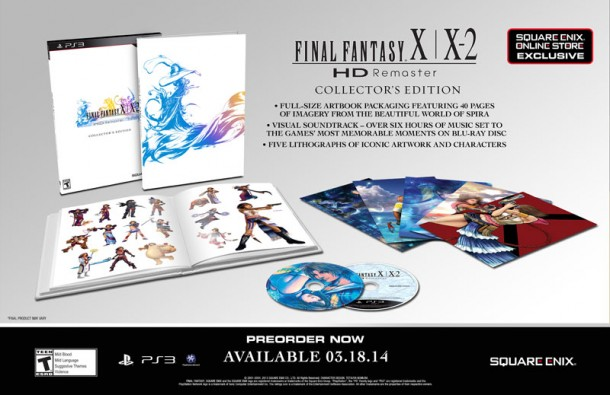 Final Fantasy X/X-2 Remaster HD - Collector's Edition | oprainfall