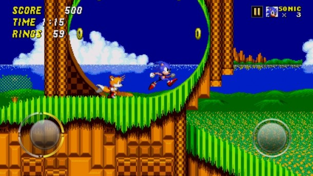 Sonic the Hedgehog 2 - Touch Screen Controls | oprainfall