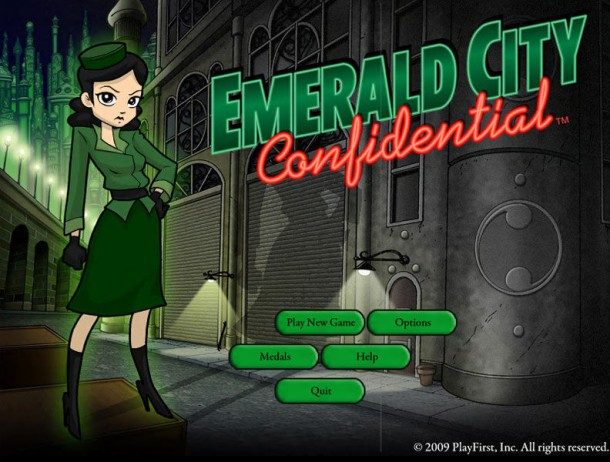 Wadjet Eye Games | Emerald City Confidential