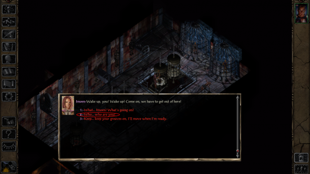 Baldur's Gate II Enhanced Edition | Amnesia Option