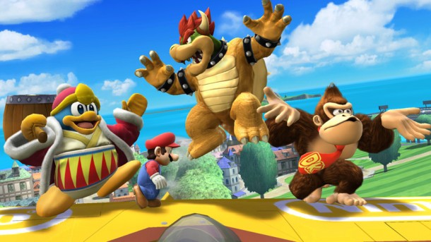 King Dedede, Mario, Bowser, and Donkey Kong - Smashing Saturdays | oprainfall