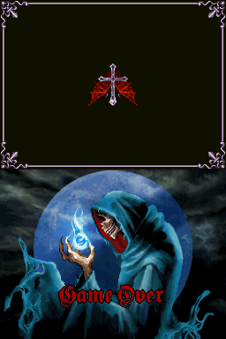 Castlevania: Dawn of Sorrow | Game Over