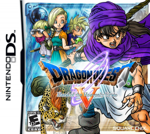 Dragon Quest V - DS North America Box Art | oprainfall
