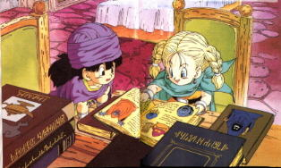 Dragon Quest V - The Hero and Bianca | oprainfall