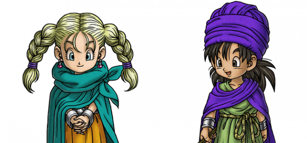 Dragon Quest V - Childhood Bianca and the Hero