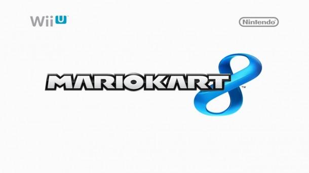 Mario Kart 8 Logo (White)