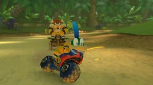 Mario Kart 8 | Bowser and Larry Koopa