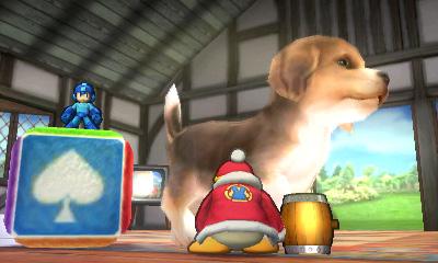 Mega Man vs. King Dedede on Nintendog Stage - Smashing Saturdays   oprainfall