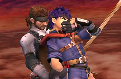 Snake Puts Ike in Headlock - Character of the Week: Snake - Smashing Saturdays | oprainfall