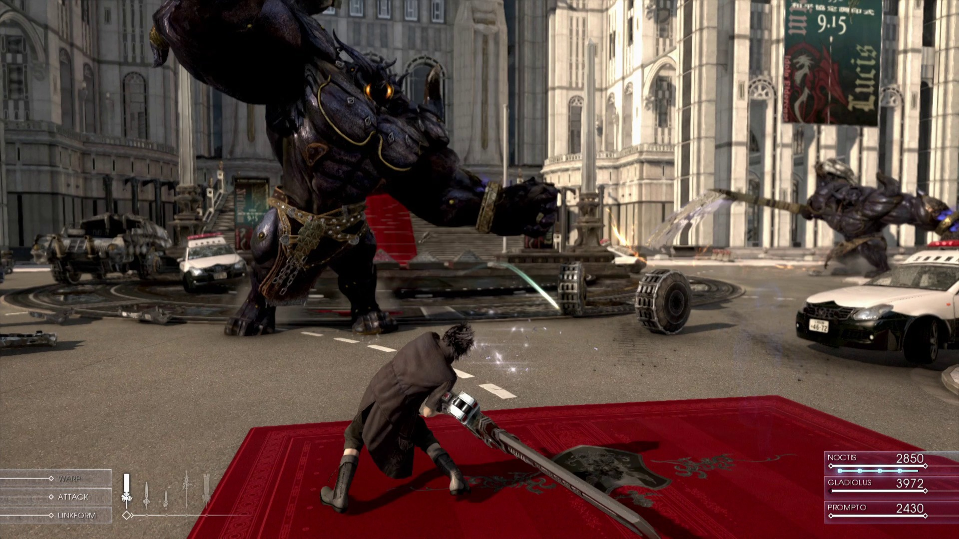 Final Fantasy XV Comes With Full Action Gameplay