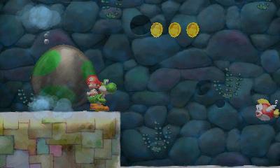 Yoshi's New Island - Metal Eggdozer | oprainfall