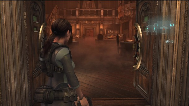 Resident Evil: Revelations | Jill Exploring the Ship