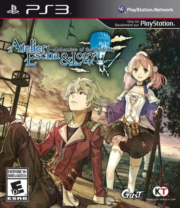 Atelier Escha & Logy | Box Art (North America)
