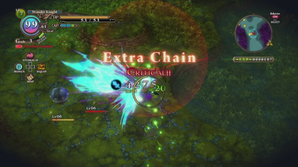 The Witch and the Hundred Knight | Combat Chain