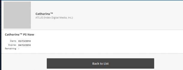 PSN Store - PSNow Listing | oprainfall