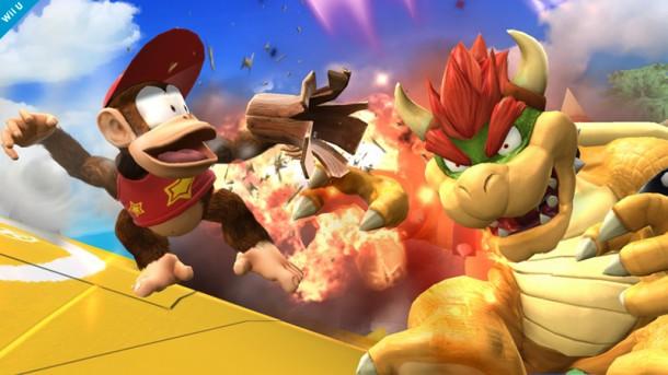 Diddy Kong vs. Bowser - Smashing Saturdays | oprainfall