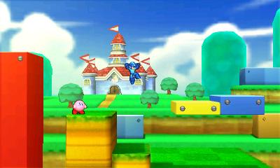 Kirby and Mega Man in Super Mario 3D Land - Smashing Saturdays | oprainfall