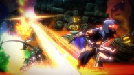 New screenshots for Yaiba: Ninja Gaiden Z show off a massive boss fight and striking cel-shaded visuals.
