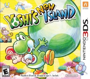 YYoshi's New Island - Box Art (North America) | oprainfall