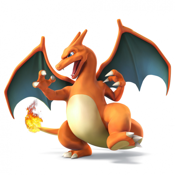 Super Smash Bros - Charizard Art