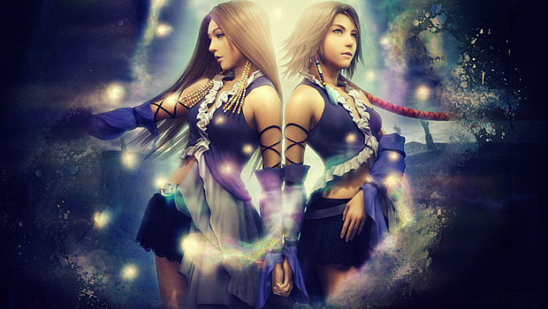 Final Fantasy X-2 - Yuna and Lenne | oprainfall