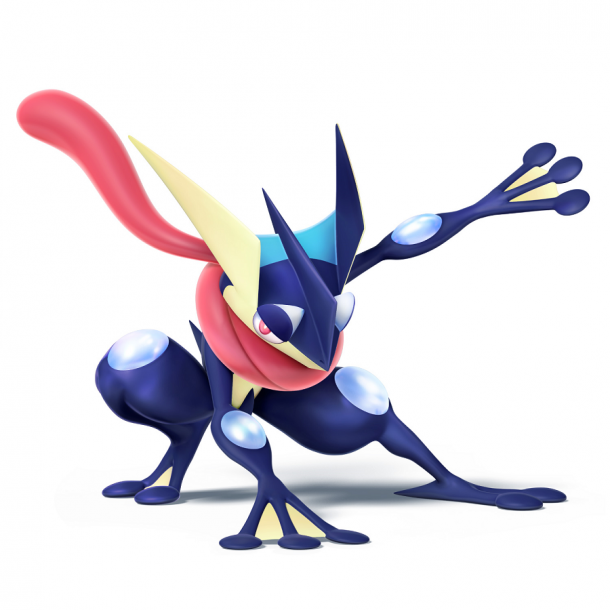 Super Smash Bros - Greninja Art