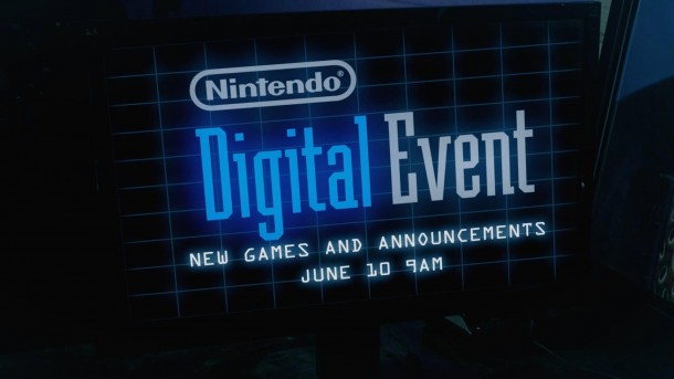 Nintendo Digital Event Advertisement