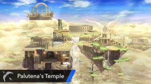 Super Smash Bros - Palutena's Temple