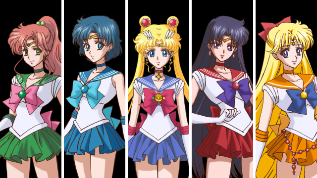 what sailor moon characters - photo #35