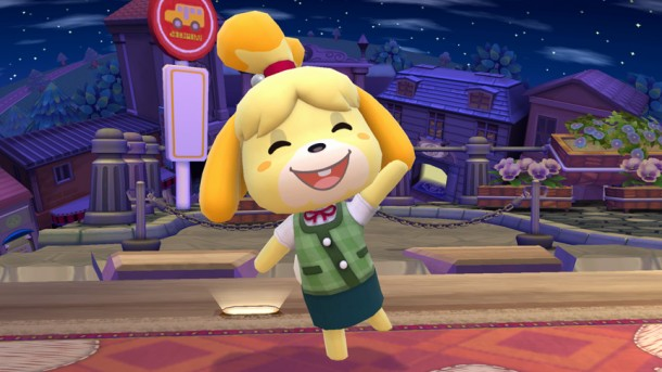 Isabelle on the Animal Crossing Stage - Smashing Saturdays | oprainfall
