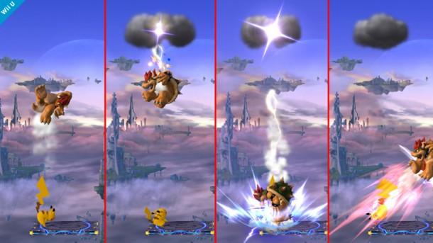 Pikachu vs. Bowser - Smashing Saturdays | oprainfall