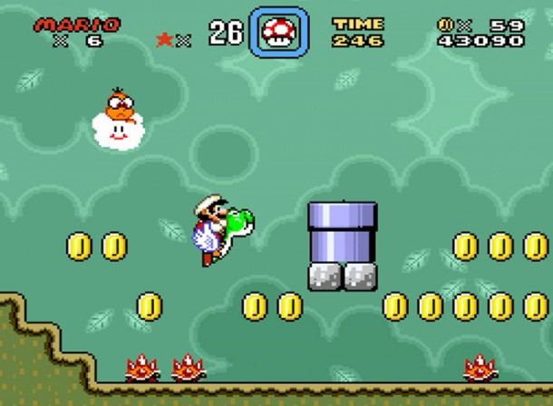 Super Mario World - Club Nintendo | oprainfall