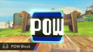 Super Smash Bros - POW Block