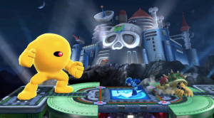 Super Smash Bros - Wily Castle - Yellow Devil 3