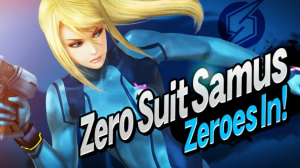 Super Smash Bros - Zero Suit Samus