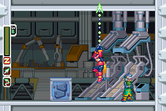 Mega Man Zero | Ceiling Hang