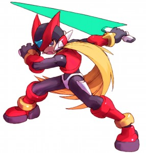 Mega Man Zero | Artwork