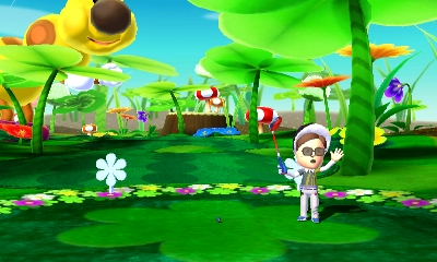 Mario Golf: World Tour - Mii at Tee | oprainfall
