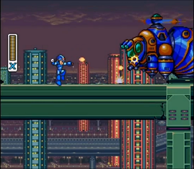 Mega Man X | Intro Stage