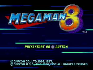 Mega Man 8 | Title