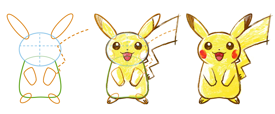 Pokemon Art Academy Drawing Pikachu