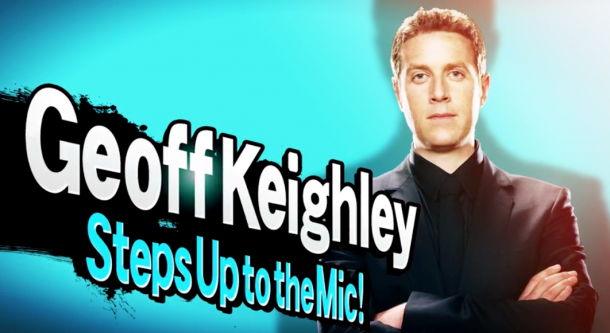 Smash Bros. Invitational - Geoff Keighley