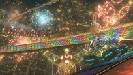 Mario Kart 8 - Rosalina on Rainbow Road