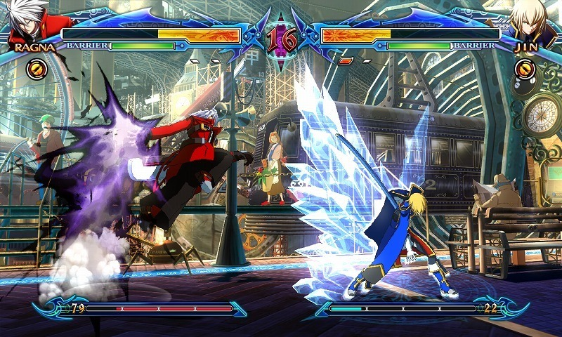 BlazBlue: Chrono Phantasma| Combat Example